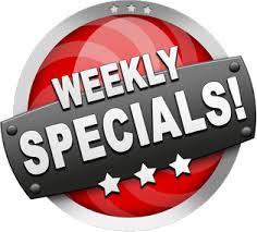weekend specials image